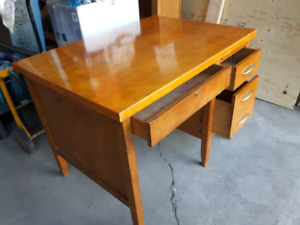 Items for sale - desk, bookcase, carseat, cabinet