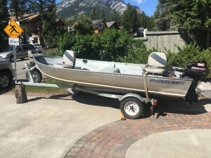 14 FT. ALUMINUM FISHING BOAT