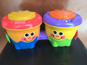 Fisher Price Crawl Along DrumRoll . In excellent condition!!