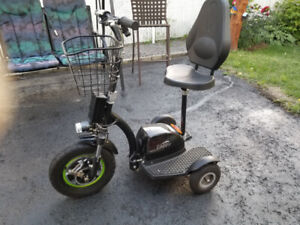 Zappy Electric tricycle $700