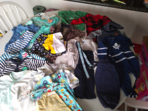Lot of baby boy clothes 6-9 months