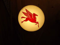 lighted pegasus sign
