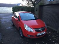 Vauxhall corsa diesel 2010 ecoflex £30 a year tax! Cheap car!