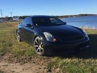 infiniti g35 *never winter driven*