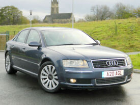 2005 Audi A8 4.0 TDI Quattro 4dr WITH FSH+BOSE+SPORTS INTERIOR+TV FUNCTION++