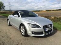 Audi TT 2.0 TFSI Convertible. Low Miles. FSH. Years Mot. Pristine.