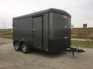 New 2017 H & H 7x12 enclosed trailer