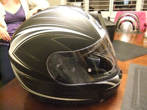 hjc street motorcycle helmet dot and snell certified size large