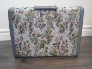 Tapestry & Leather Briefcase