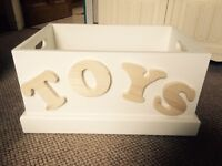 Large Toy Box. 60cmx40cmx33cm