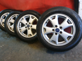 """16"""" Genuine Ford transit connect alloy wheels 2004 to 2021"""
