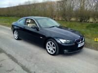 2006 BMW 330 SE 3.0TD (231BHP) SIX SPEED MANUAL, BLACK, CREAM LEATHER, AIRCON