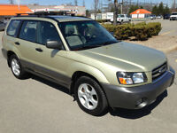 SUBARU FORESTER 2.5XS AWD 2004 ( !! TOIT PANO. IMPECCABLE !! )