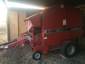 Case 8480 Soft Core Baler