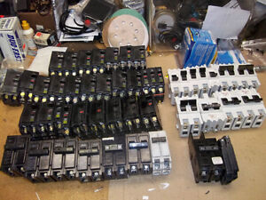 USED BREAKERS FOR ELECTRICAL PANELS