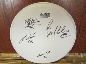 Trailer Park Boys Autographed Drumhead - Exact Proof