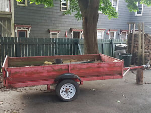 4 ×8 ft Utility trailers for sale.