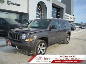 2016 Jeep Patriot High Altitude 4x4 w/Leather  Sunroof  - Low Mi