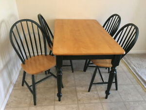 Dining table + 4 chairs/sofa/love seat/TV stand/chair