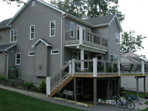 New Deck and/or Step Construction