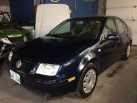 2002 Volkswagen Jetta, MUST Sell this weekend! Low kms