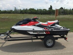 Super Clean Sea Doo package deal with trailer and 2 lifts