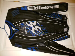 Empire dirt bike jersey size large