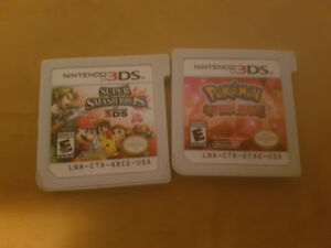 3ds games smash bros and pokemon omega ruby