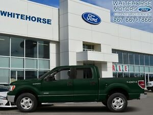 2014 Ford F-150 4X4-SUPERCREW XLT- 157 WB   - $246.92 B/W