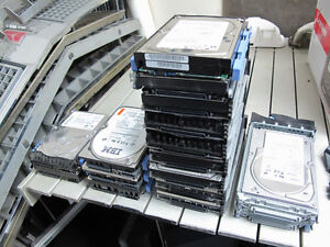 80 Pin server SCSI Hard drives 73GB 36GB U320 U160 tested!
