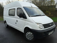 2008 57 LDV MAXUS 9 SEAT CREW VAN 3.5T 95 LONG WHEEL BASE HIGH ROOF *NO VAT*