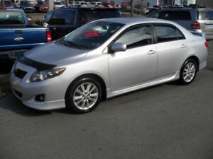 2010 TOYOTA COROLLA -S PACKAGE-CLEAN -WARRANTY