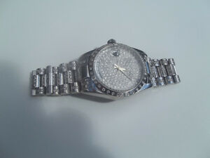 Gold-14 Karat & 6.5 Karat Diamond-Watch