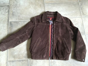 So cool Wilsons leather coat for small child