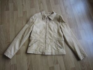 "WOMEN'S YELLOW ""MARIE CLAIRE COLLECTION"" JACKET - SIZE SMALL"