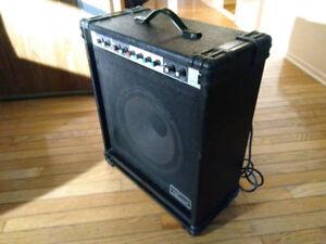 samick sm35kc amplificateur de basse 35w