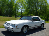 1984 Ford Mustang 20th Anniversary Edition Convertible