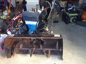 """44"""" Bercomac lawn tractor snowblower attachment"""
