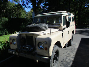 109 Series 3 1982 ex-British military rhd