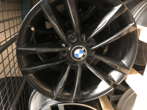 "BMW Black Replica Wheels 17"" 499$"