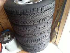 Winter Tires/Rims/Sensors P245-75-R16 BF Goodrich Winter Slalom