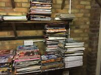 Large collection of magazines 50p each FHM, Loaded, empire etc.