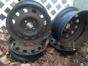 15inch Ford steel rims for sale 4x108