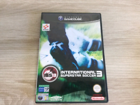 Nintendo GameCube Game International Superstar Soccer 3 in very good c
