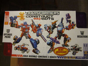 Transformers Construct-a-bot Optimus Prime and Megatron Set