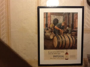 ORIGINAL VINTAGE AD of IMPERIAL WHISKEY from 1946