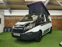 2015 FORD TRANSIT CUSTOM 270 ECO **CAMPERVAN WITH ROOF FITTED**