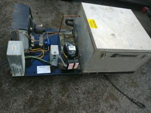 Walk in Cooler Compressor Top mount unit x2