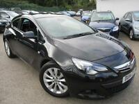 2014 VAUXHALL ASTRA GTC SRI CDTI S/S * SAT-NAV * HALF LEATHER * CRUISE * HATCHBA