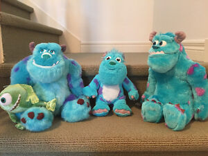 Monsters Inc. plush animals new from Disney! West Island Greater Montréal image 5